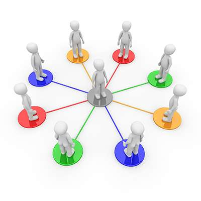 networking people web