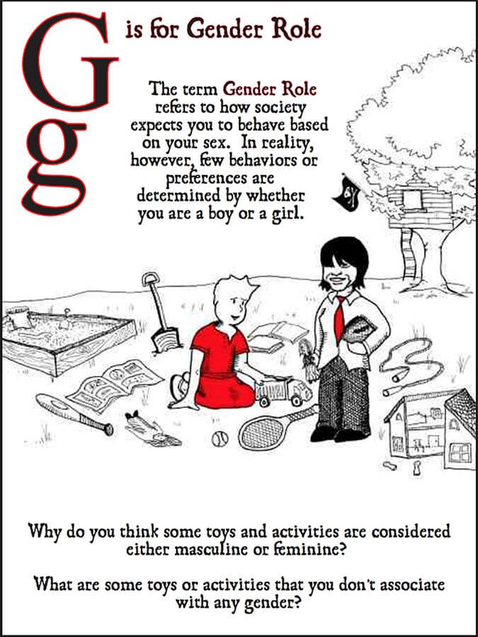 G is for gender role