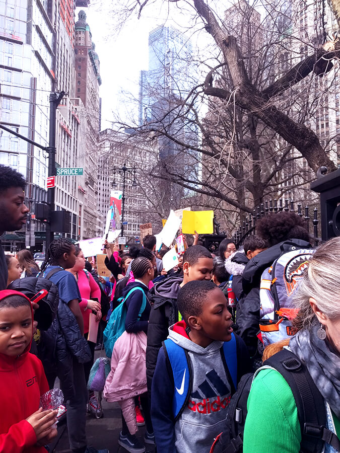 Youth Climate Strike, City Hall, New York City, March 15, 2019