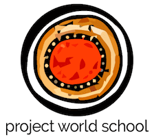 Project World School logo