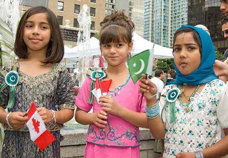 Muslim Children, Canadian Islamic Cultural Expo 2007